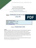 1 Ère Partie Du Cours de Mic 09 M1-1-7