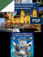 XI CONGRESO INTERNACIONAL DE MEDICINA INTENSIVA SOPEMI 2011 LIMA-PERU