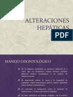 alteraciones hepáticas