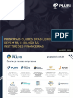 Principais Clubes Brasileiros Devem 11 Bilhão de Reais Às Instituições Financeiras – PLURI Consultoria
