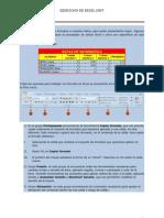 Ejercicios de Excel 2007 14,15,17