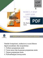 Materi 5 Manajemen Mutu Proyek