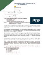 17 Pre Examen y Practica Domicilio Mca de Suelos I - UNH2021 CARLOS GASPAR PACO