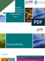 Propuesta Finanzas Verdes 2021