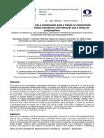 Análise Da Resistência à Compressão Axial e Tração Na Compressão Diametral de Concretos Estruturais Com Fibras de Aço e Fibras de Polipropileno