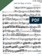 Stamitz, A. Concierto Sol M FL Op.29 Ed. Schott