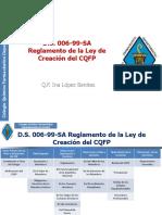 1.2.- Reglamento de La Ley de Creación Del CQFP (1) (1)