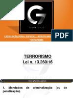 Slide Do Professor - Delegado - LPE - Terrorismo - Renato Brasileiro - Aula 01