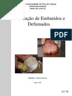 Apostila de Fabricação de Embutidos e Defumados - UOV