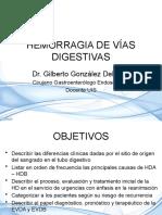 HEMORRAGIA DE VÍAS DIGESTIVAS