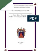 A Nova Ordem Mundial, os Novos Conflitos Internacionais e o Brasil
