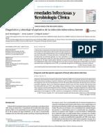 Diagnostico y Abordaje Terapeutico de LTBI Enf Inf Microbiol 2018