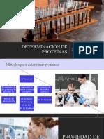 Métodos de identificación de proteínas