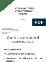 Descripcion Del Sector Portuario y Pesquero