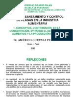 1. Conceptos de higiene y saneamiento  contribución en la conservación .....