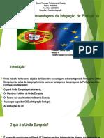 Vantagens e Desvantagens da Integração de Portugal
