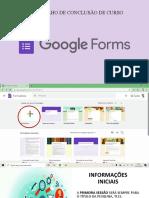 Como Criar GoogleForms