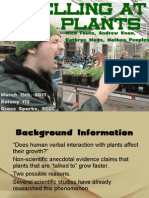 Yelling at Plants presentation