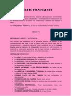 Decreto Personal 001