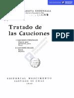 Tratado de las Cauciones, Manuel Somarriva U.-Copiar