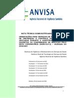 ANVISA Nota Técnica Nº 04-2020