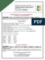 ATIVIDADES 2021 - REANP DIA 03 FEVEREIRO