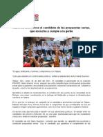 26-04-2021 Mario Moreno Arcos El Candidato de Las Propuestas Serias, Que Escucha y Cumple a La Gente