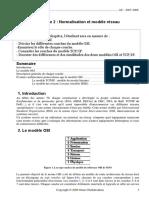 Chapitre 2 Normalisation Et Modèle Réseau_AU2007_2008_S1