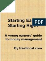 Freefincal eBook Startiing Early Starting Right