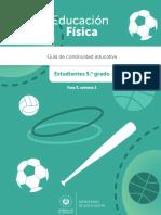 Guia Aprendizaje Estudiante 5to Grado Educacion Fisica f3 s1