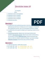 MANUEL  GARCIA - EJERCICIOS TEMA 10