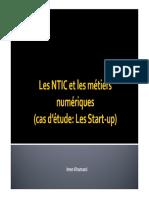 Chp2 Les NTIC et les métiers numériques