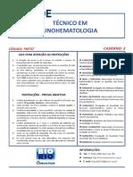 Tecnico Imunohematologia Gab 2