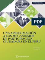 Documento de Trabajo Una Aproximacion a Los Mecanismos de Participacion Ciudadana en El Peru