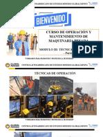 MODULO IV - TECNICAS DE OPERACION - PARTE 1