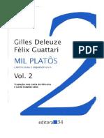 Deleuze & Guattari 1995