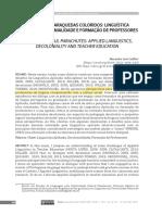 CADILHE-2020-FABRICANDO PARAQUEDAS COLORIDOS-LINGUÍSTICA APLICADA, DECOLINIALIDADE E FORMAÇÃO DE PROFESSORES