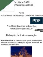Fundamentos da Metrologia - Aula 1 - 310715