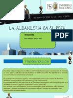 La Albañilería en El Perú 3