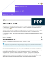 Introduction Au C# - Apprenez à Développer en C# - OpenClassrooms_1604255371414