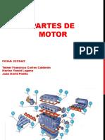 PARTES DEL MOTOR Y TIPOS DE CAMARAS DE COMBUSTION