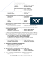 2012 State Marketing Exam