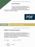 Aplicaciones de Las Ecuacioes Diferenciales II