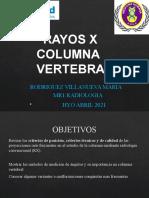 RAYOS X COLUMNA