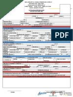 Formato de Actualización de Datos 2020