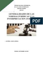 (03)GENERALIDADES DE LA NORMA JURIDICA (03)
