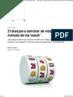 21 días para cambiar de vida_ el método de los 'coach' _ BuenaVida _ EL PAÍS