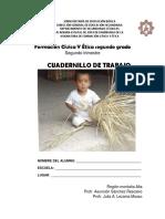 Cuadernillo Formación Cívica y Ética 2° segundo periodo Secs. Técs. Gro.