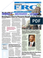 Baltimore Afro-American Newspaper, March 19, 2011