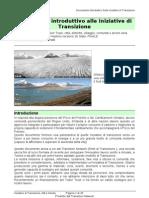 documento introduttivo alle iniziative di transizione